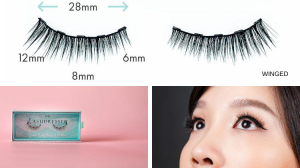 Buy [Design: WINGED] The LashDresser Magnetic Lashes Singapore
