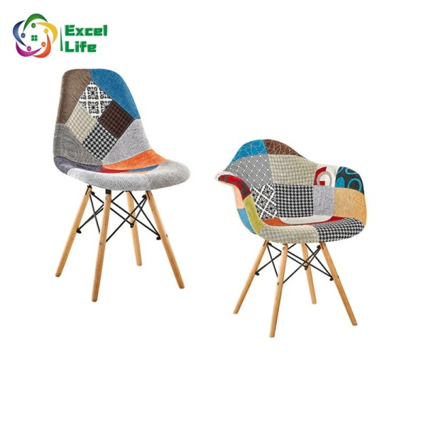 Excellife Premium Lounge Chair Dining Chair / Office Chair Fabric Seat