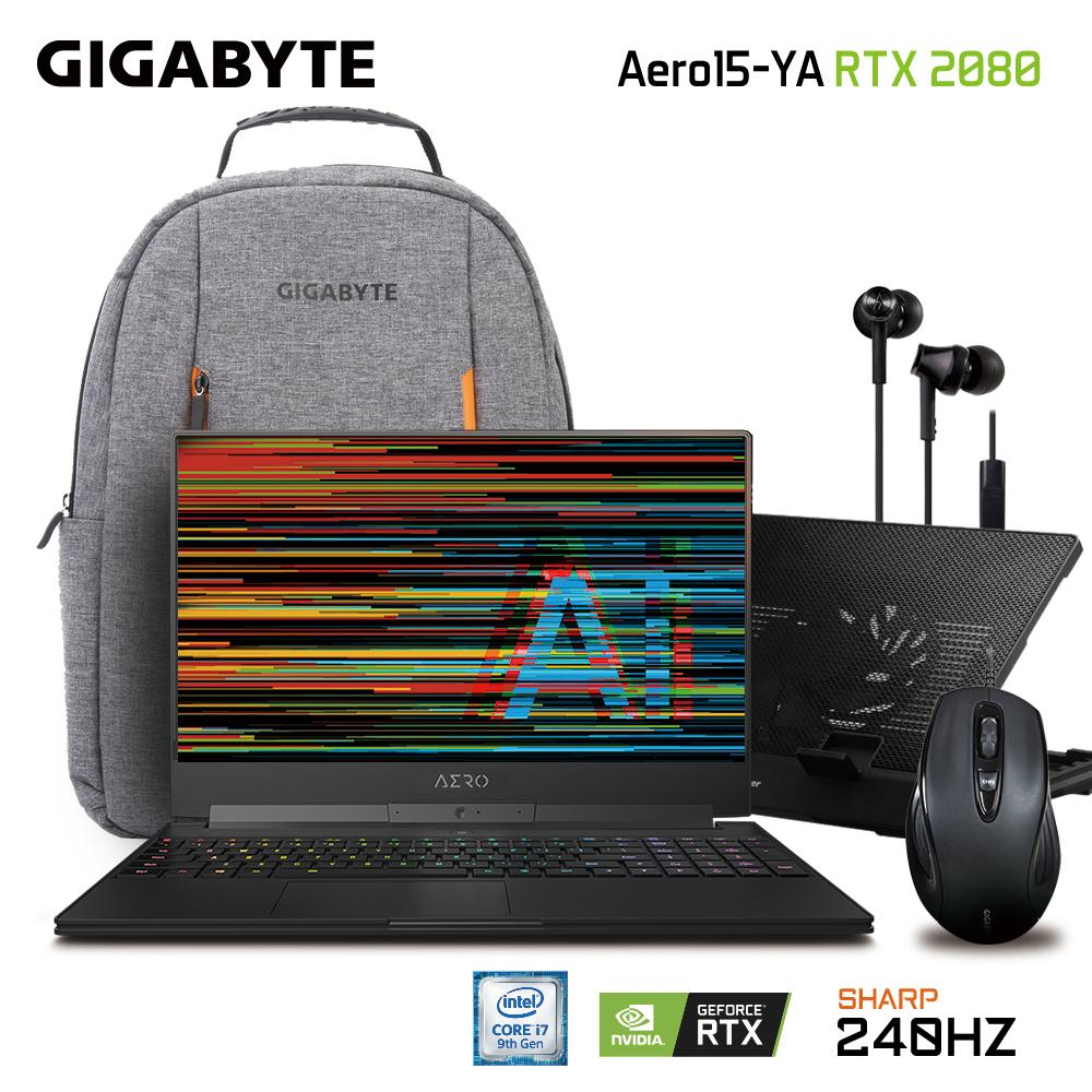 GIGABYTE AERO 15 Classic-YA FHD 240Hz (i7-9750H/32GB SAMSUNG DDR4 2666 (16GB*2)/GeForce RTX 2080 GDDR6 8GB Max-Q/1TB INTEL 760P PCIE SSD/15.6 Thin Bezel SHARP FHD 240Hz IGZO/WINDOWS 10 PROFESSIONAL) [Ships 2-3 days]
