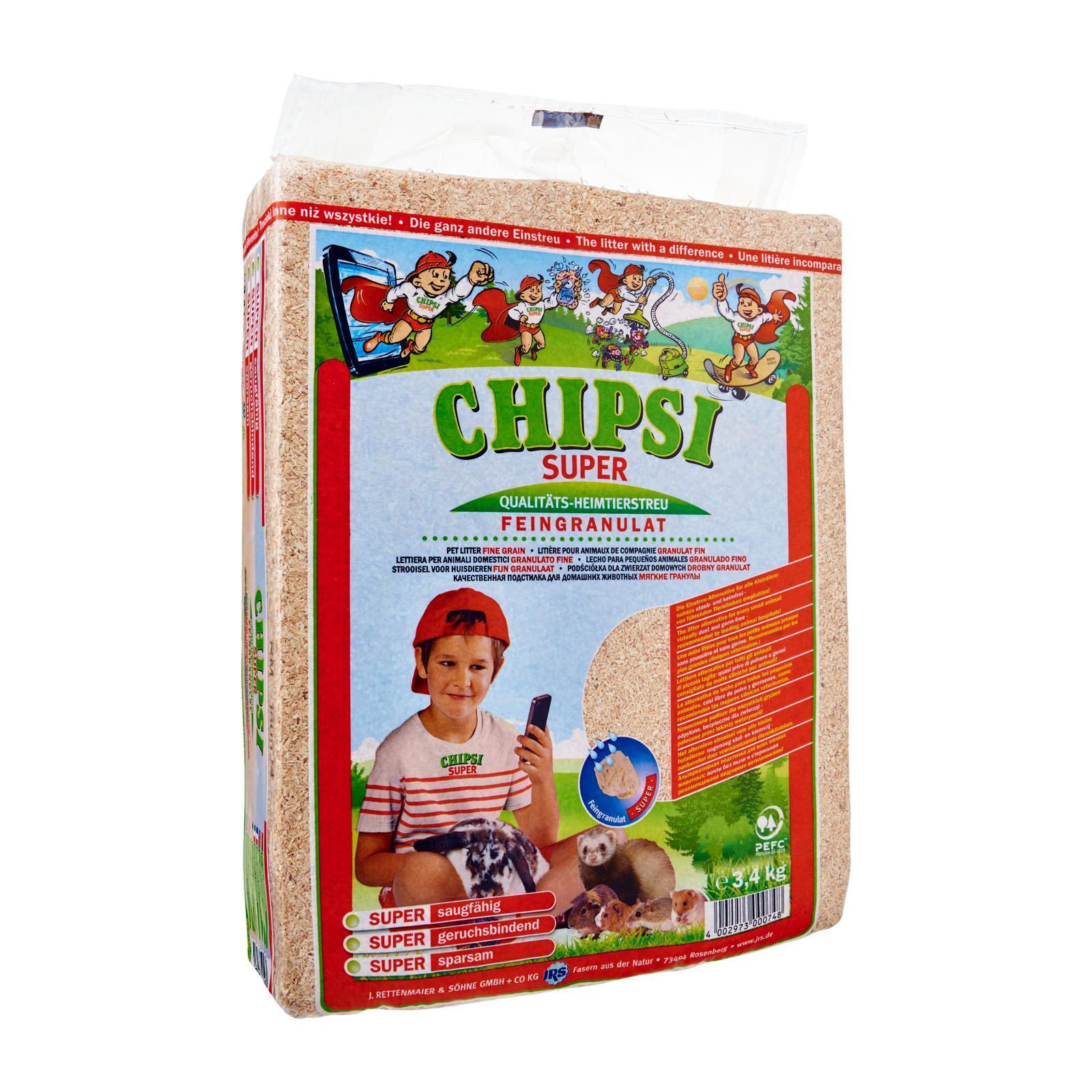 Chipsi Super Pet Litter 3.4Kg