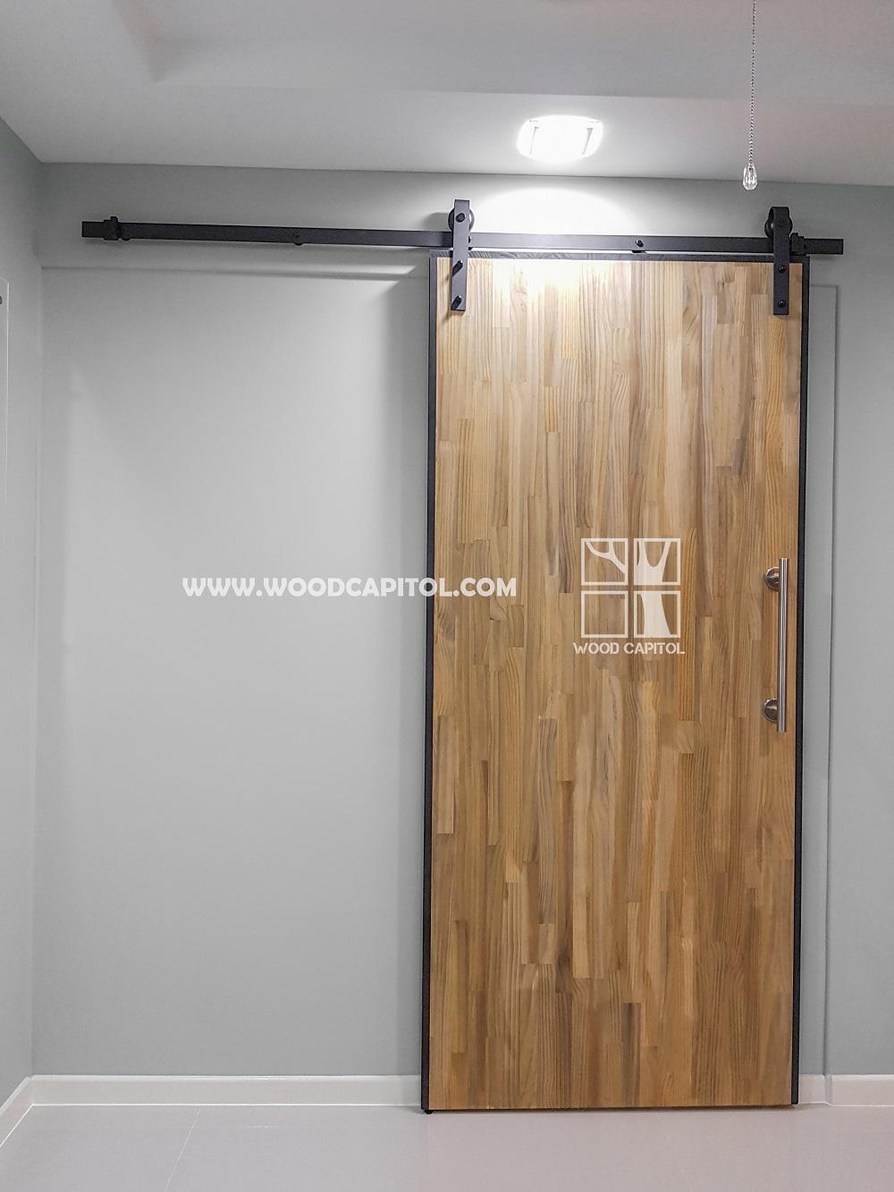 Wood Capitol HDB Barn Door