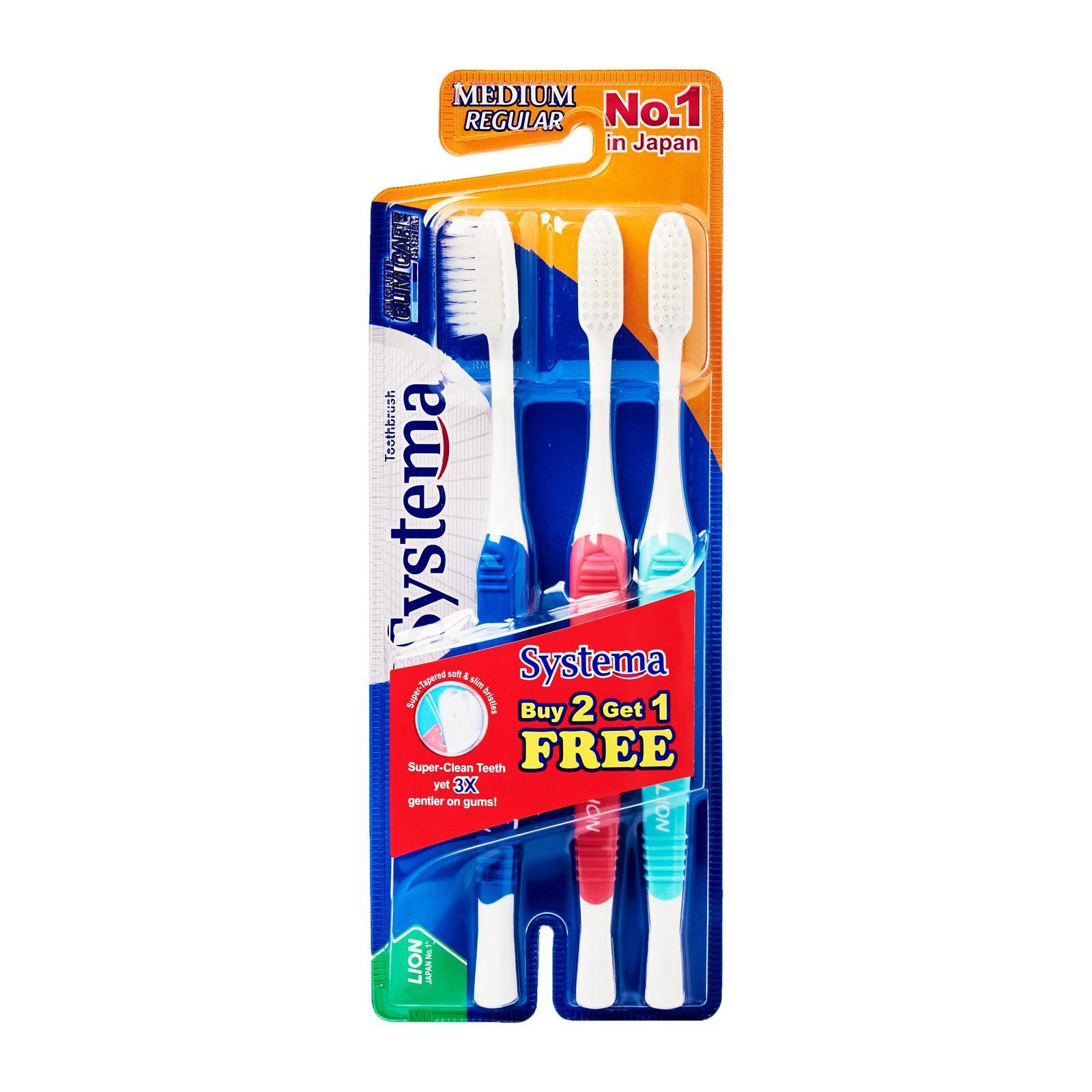 Systema Gum Care Toothbrush - Regular Head Med