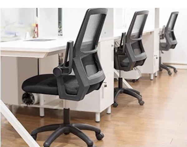 UMD Mesh Office Chair with Flippable Armrest Design Singapore