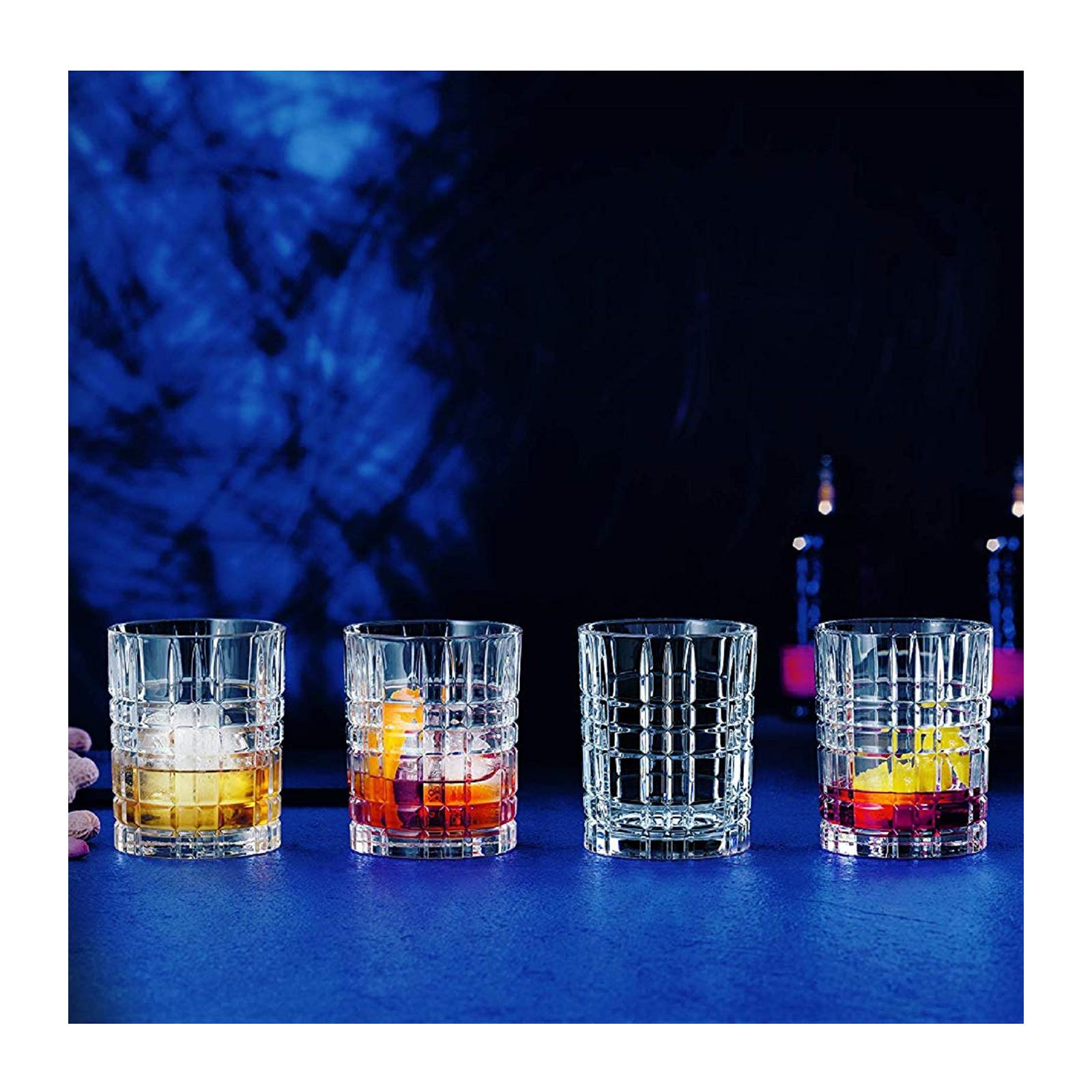 Nachtmann Square Collection Set Of 345ML Whiskey Glasses
