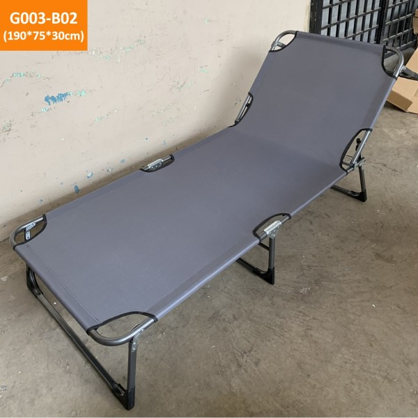 Folding bed / Camping Bed / Deck chair / Office bed / Recliner Beach Relax Foldable bed