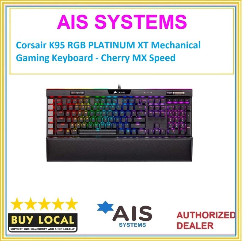 Corsair K95 RGB PLATINUM XT Mechanical Gaming Keyboard - Cherry MX Speed Singapore