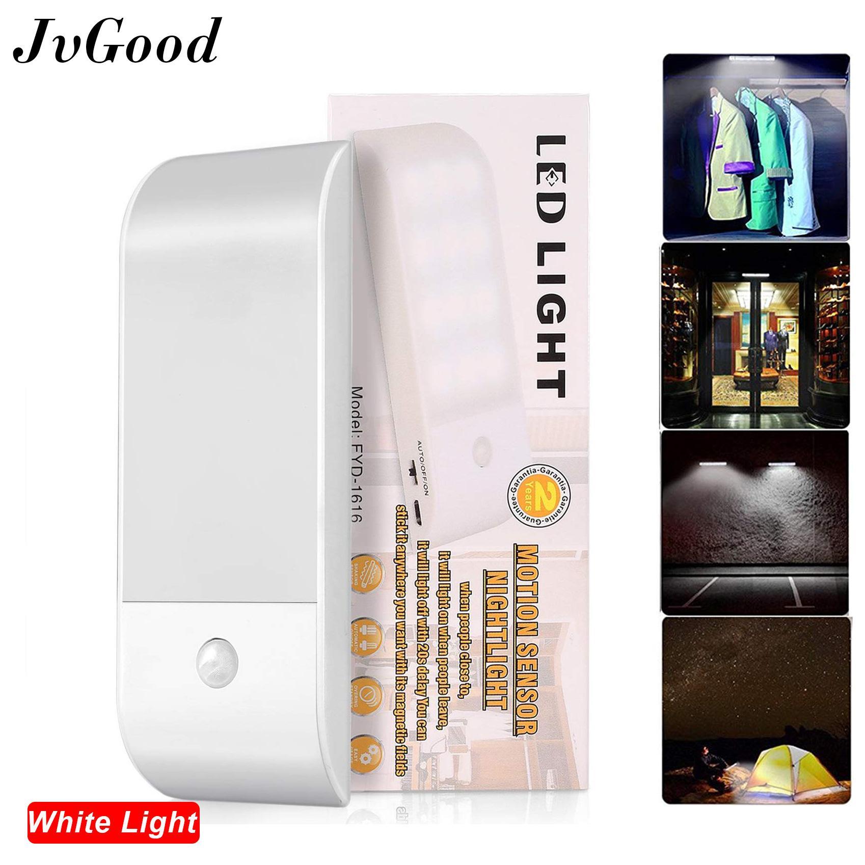 64dbfb45a1c5 JvGood Motion Sensor Night Lights, Licer LED Body Toilet Bathroom Corridor  Lamp 12 LEDs USB