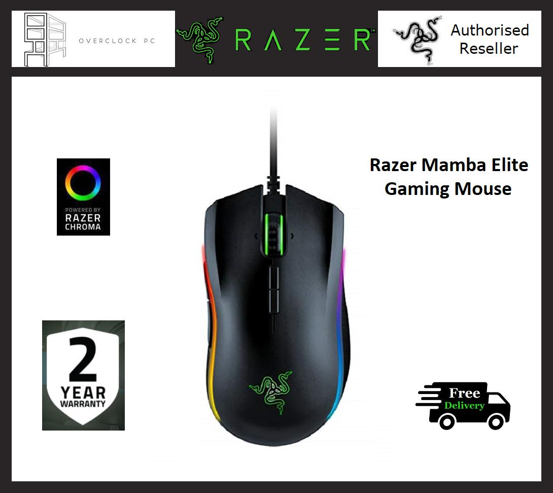 6103ebf7a1d Razer Mamba Elite Chroma Wired Gaming Mouse with RGB lights Singapore