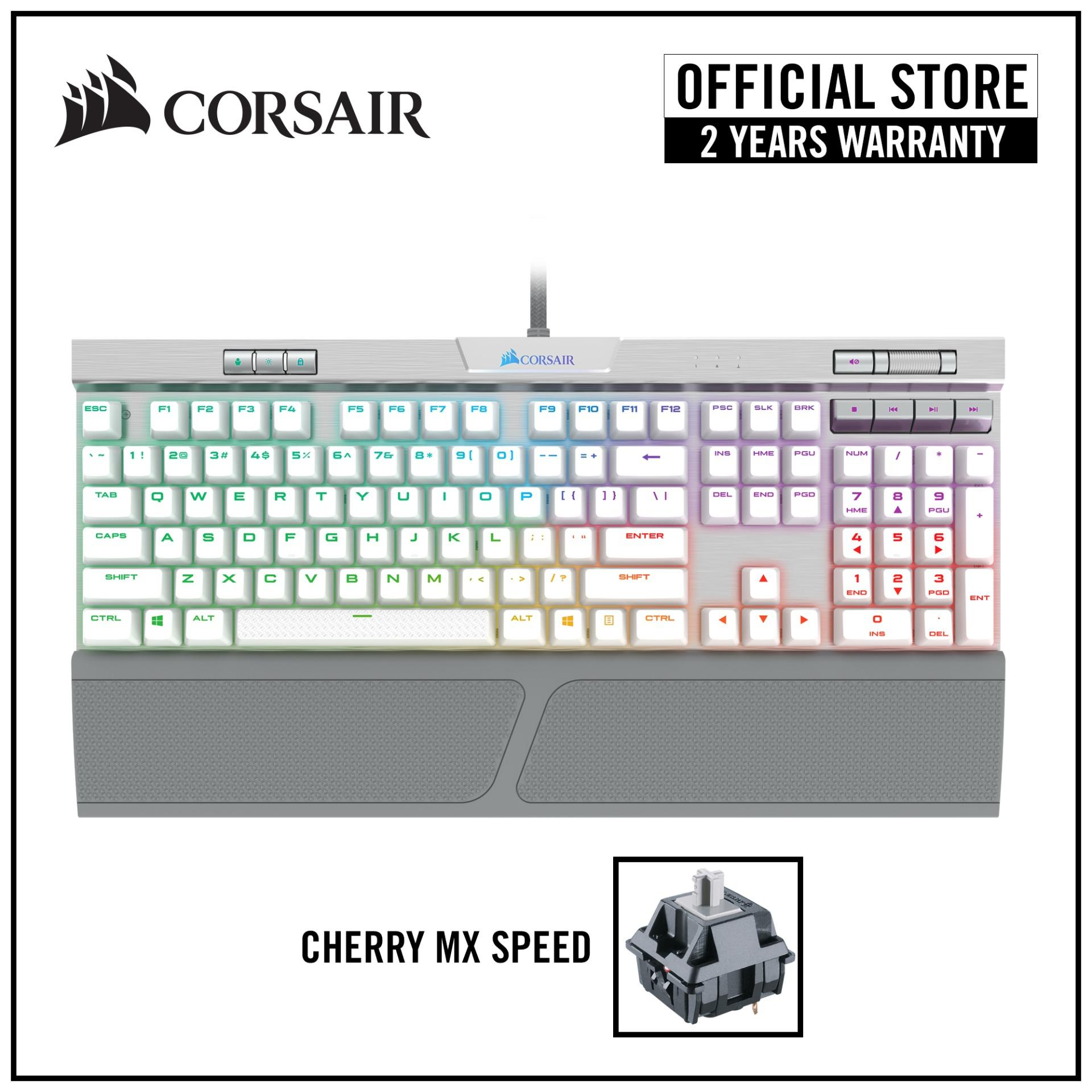 CORSAIR K70 RGB MK.2 SE RAPIDFIRE Mechanical Gaming Keyboard - Cherry MX Speed RGB