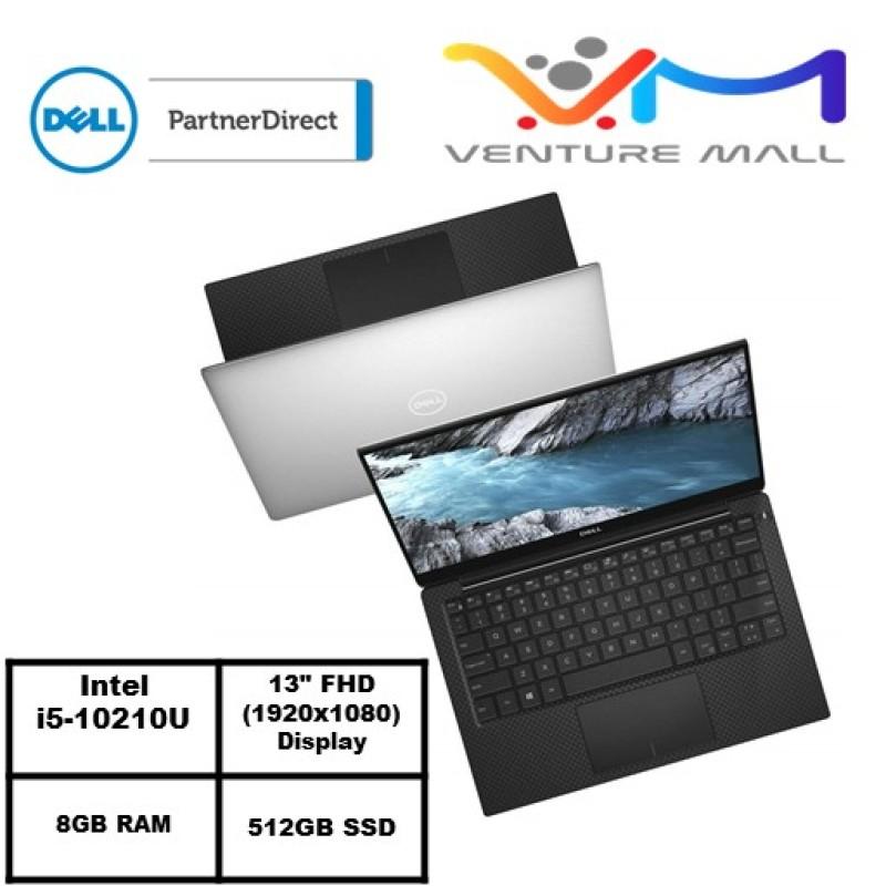XPS 13 7390- Intel® Core™ i5-10210U/WIN 10 HOME/8GB RAM/512GB SSD/Intel® UHD Graphics/2Yrs Warranty