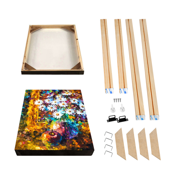 20x50 (3 frames) and 70x100 (1 frame) 60x120 (1 frame) Natural Wood Frame For Canvas Painting Picture Factory Provide DIY Wall Photo Frame Poster Frame