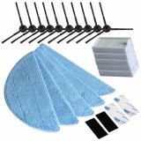 Cheapest 10Pcs Side Brush 5Pcs Hepa Filter 5Pcs Mop Cloth 4Pcs Velcro For Chuwi Ilife V5 V3 Series Parts Ilife V5Pro X5 V5S Ilife V5 Pro Intl Online