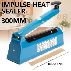 Cheapest 12 Impulse Heat Sealer 300Mm Electric Plastic Poly Bag Hand Sealing Machine Intl