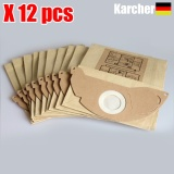 Latest 12Pcs Vacuum Cleaner Dust Parper Bags Replacement Karcher A2000 2003 2004 2014 2024 2054 2064 2074 S2500 Wd2200 2210 2240 2250 Intl