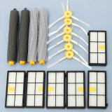 14Pcs Extractor Side Brush Hepa Filters For Irobot Roomba 800 870 880 Series Cleaner Intl Reviews