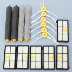 Compare Price 14Pcs Extractor Side Brush Hepa Filters For Irobot Roomba 800 870 880 Series Cleaner Intl On China