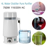 Get The Best Price For 1Gal 4L 750W Pure Water Distiller Filter Stainless Steel Medical Home Purifier 220V Eu Plus Intl