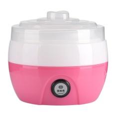 220v 1l Electric Automatic Yogurt Maker Machine Yoghurt Diy Tool Plastic Container(pink) - Intl By Highfly.