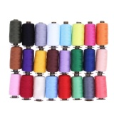 Price Compare 24 Different Colors 1000 Yard Polyester Embroidery Sewing Machine Threads Intl