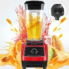 Recent 2L 3Hp 2200W Multi Functional Commercial Juicer Mixer Blender Food Processor New 220V Uk Plug Red Intl