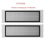 2Pcs Original Filter Spare Part For Xiaomi Mi Robotic Vacuum Cleaner Intl Best Price