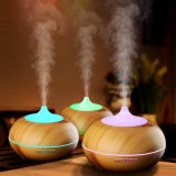 Cheap 300Ml Cool Mist Humidifier Ultrasonic Aroma Essential Oil Diffuser Wood Grain Intl Online