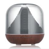 Best 300Ml Wood Grain Cool Mist Humidifier Essential Oil Diffuser Air Purifier Intl