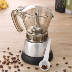 Compare 4 Cup Electric Espresso Coffee Maker Machine Percolator Moka Pot Stovetop Brewer Intl Prices