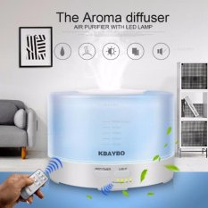 500Ml Remote Control Ultrasonic Air Aroma Humidifier Electric Aromatherapy Essential Oil Aroma Diffuser With 7 Color Led Lights Intl Lowest Price