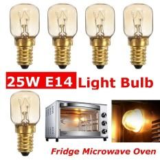 5x Appliance Fridge Microwave Oven Light Bulb 220v E14 Pygmy Screw In Light Bulb - Intl By Five Star Store.