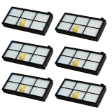 Best Buy 6 Pcs Replacement Hepa Filter For Irobot Roomba 800 Series 870 880