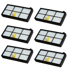 Sale 6 Pcs Replacement Hepa Filter For Irobot Roomba 800 Series 870 880 Thinch Branded