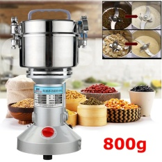 Review 800G Electric High Speed Herb Seasoning Feed Mill Grains Grinder Powder Machine Intl Not Specified