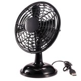 How To Get 818 Desktop Fan Usb Power Supply 2 Speeds Mini Portable Oscillating Fan Black
