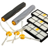Promo 8Pcs Side Brush Filter Extractor Replenishment Kit For Irobot Roomba 800 870 880 980 Intl