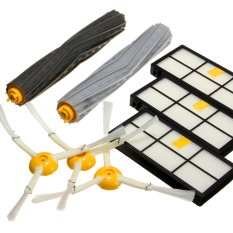 Sales Price 8Pcs Side Brush Filter Extractor Replenishment Kit For Irobot Roomba 800 870 880 980 Intl