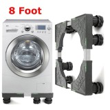Retail Price Adjustable Washing Machine Base Refrigerator Undercarriage Bracket Stand Eight Foot Intl