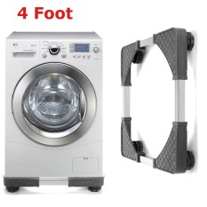 Adjustable Washing Machine Base Refrigerator Undercarriage Bracket Stand (four Foot) - Intl By Freebang.
