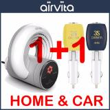 Discounted Airvita 1 1 Air Purifier Airvita Q For Home With Carvita Cav 3S For Car Intl