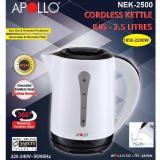 Cheap Apollo Nek 2500 Cordless Electric Kettle 2 5L