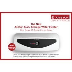 The Cheapest Ariston 20L Andris Slim Storage Water Heater Sl20 Online