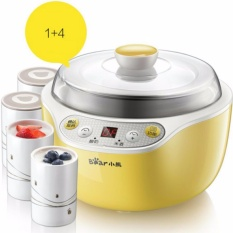 Sale Bear Snj B10K1 Multifunction Intelligent Yogurt Maker Rice Wine Maker 4 Ceramic Cups Intl Online On China