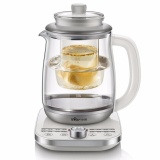 Get Cheap Bear Ysh A18U2 Health Pot Bird S Nest Pot Automatic Thick Glass Household Multifunctional Tea Kettle Glass Liner 1 8L Intl