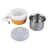 Sale Beau Stainless Steel Automatic Yogurt Maker Diy Delicious Yoghurt Container Orange Intl Oem Wholesaler