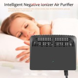Best Rated Black Intelligent Negative Ion Anion Generator Room Car Ionizer Air Purifier Intl