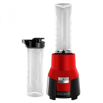 BLACK+DECKER FusionBlade Personal Blender with Two 20oz Personal Blending Jars Red PB1002R