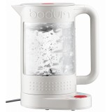 Price Compare Bodum Bistro Electric Kettle Double Wall Off White