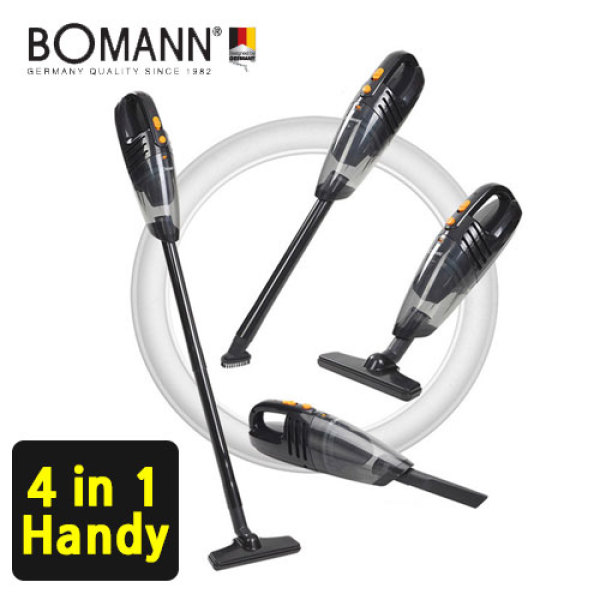 [BOMANN] 4in1 Cordless vacuum  Cleaner VC7210/ power suction / HEPA Filter / handheld Vacuum Cleaner / Multiple Use / brush cleaner / vaccum cleaner Singapore