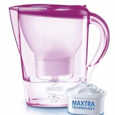 Compare Price Brita Marella Cool 2 4L Water Pitcher Tulip Pink With 1 Filter Cartridge Brita On Singapore