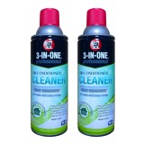 Retail Bundle Of 2 3 In 1 Pro Air Con Cleaner 331Ml X 2 Wd40 Ac Cleanerx2